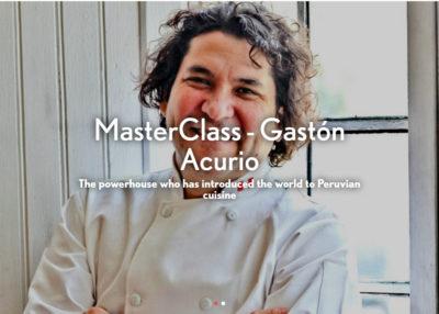 Gastón Acurio Masterclass