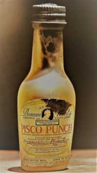 The Original Pisco Punch: invented in San Francisco in the mid 1800s