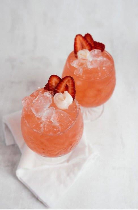 Alliance: a perfect  spritzy spring cocktail